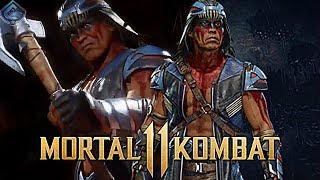 Mortal Kombat 11 - Nightwolf Release Date and Full Look Leaked! / Видео
