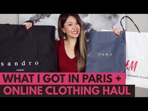 HUGE TRY-ON CLOTHING HAUL - PARIS & ONLINE | ZARA, H&M, SANDRO, ZAFUL & ASOS