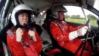 Scared Passenger In A Rally Car!
