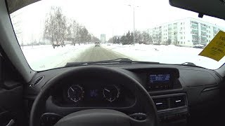 Фото с обложки 2014 Lada Priora Pov Test Drive