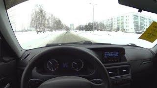 2014 Lada Priora Pov Test Drive