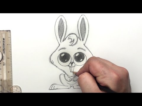How To Draw Bunny Rabbit