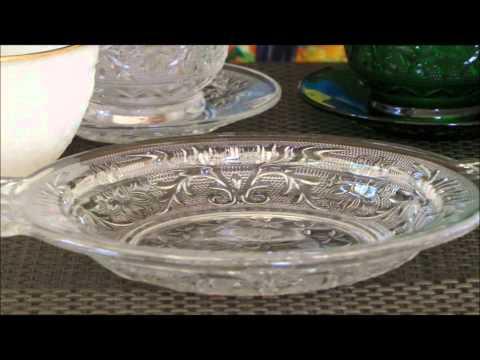 Depression Glass:  Anchor Hocking Sandwich Appraisal