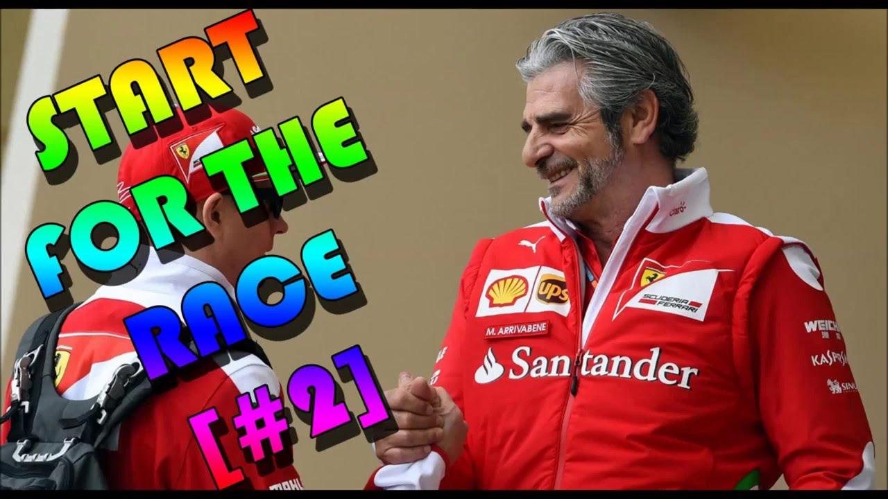 Start for the race ( Bahrain Grand Prix 2016)