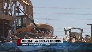 Chick-Fil-A breaks ground on first location in Henderson