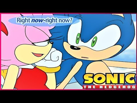 Sonic And Amy Kiss -