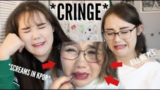 REACTING TO MY KOREABOO PAST me in pain for 16 minutes straight