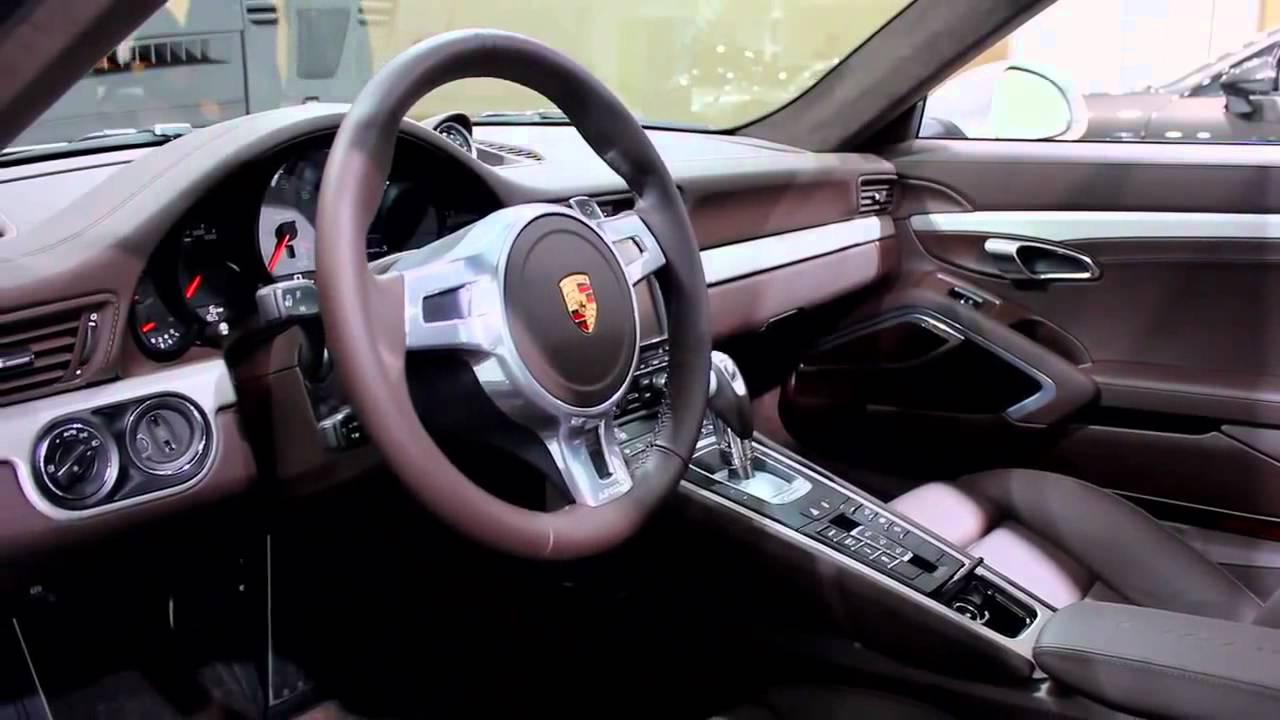 iaa 2011 new porsche 911 interior design