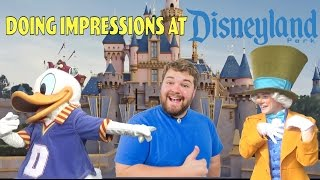 flushyoutube.com-Doing Impressions to Characters at Disneyland