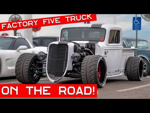 Factory Five Racing '35 Truck – On The Road!