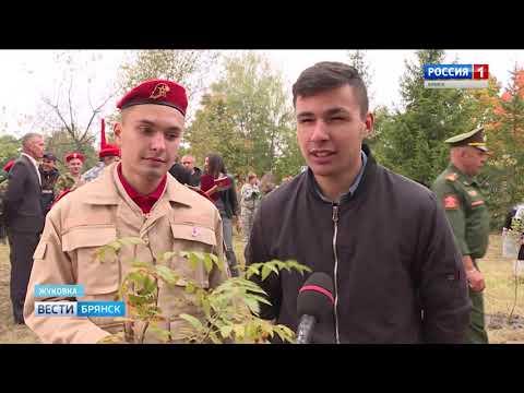 """Акция """"Солдатский лес"""" в Жуковке"""