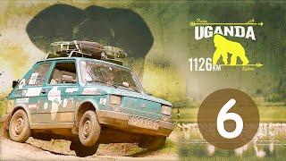 Maluchem przez Afrykę #6 WALKA w lesie równikowym. Odcinek 6/10 [UGANDA]