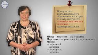 Iчтв Русс  язык 7кл  АКР №2 Морфемика и словообразование
