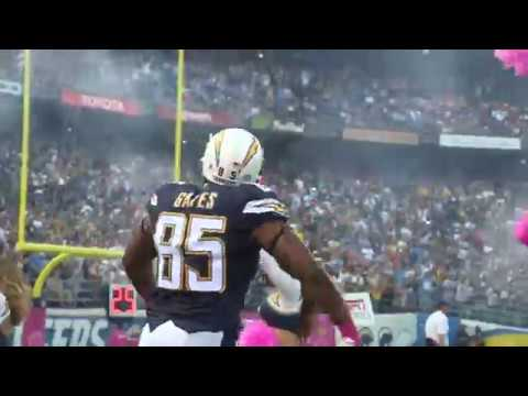 Antonio Gates talks about catching his 112th TD pass. Most for any Tight End.