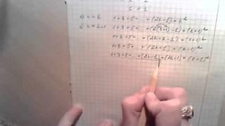 Математика 10 класс - математическая индукция - пример m10A3b