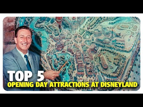 TOP 5 Opening Day Attractions at Disneyland | Best & Worst of Disneyland