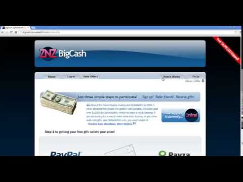 Big Cash - Earn up to $80 Per Referral - Paid Daily