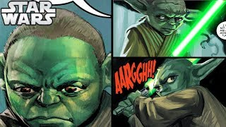 YODA'S FIRST NAME REVEALED - Star Wars Comics Explained (LEGENDS)