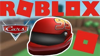 HOW TO GET THE CARS 3 LIGHTNING MCQUEEN HELMET IN ROBLOX 2017 [EVENT]