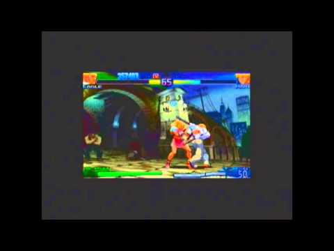Street Fighter Alpha 3 Max: Variable Battle with Eagle and Ingrid