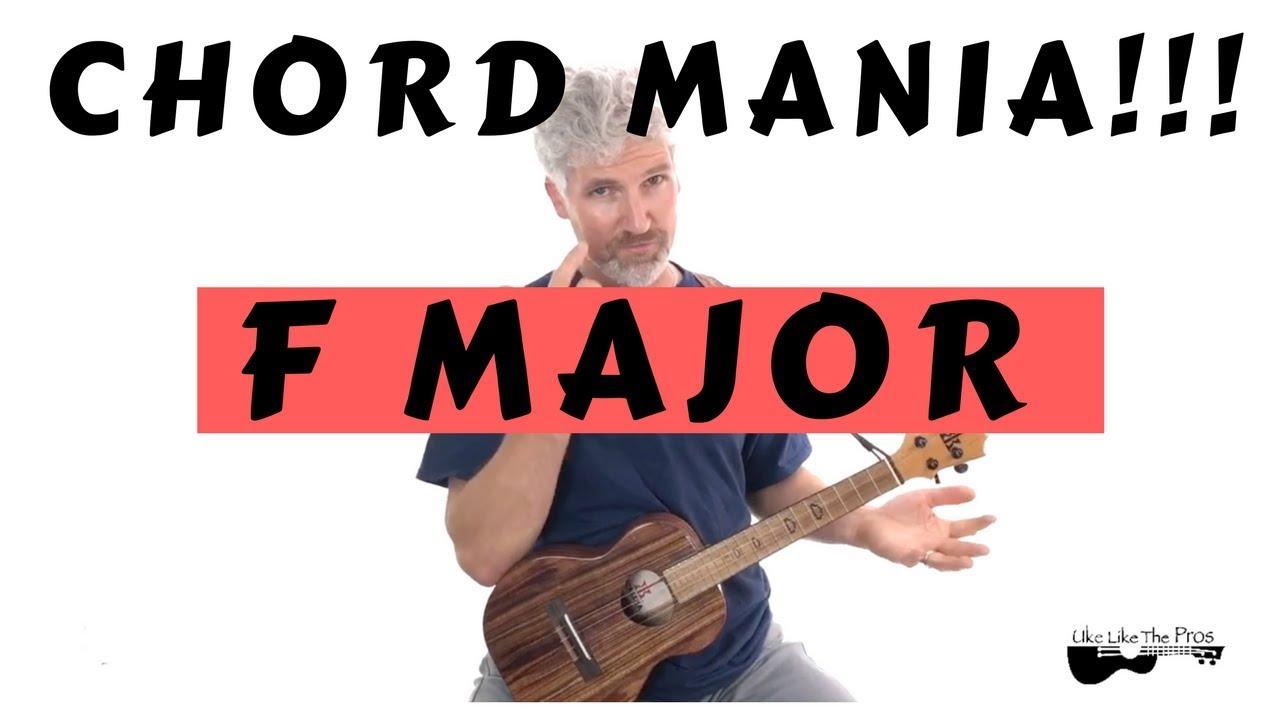"""Ukulele Chord Mania """"F"""