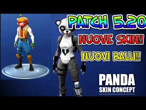 skin patch 5.20 fortnite