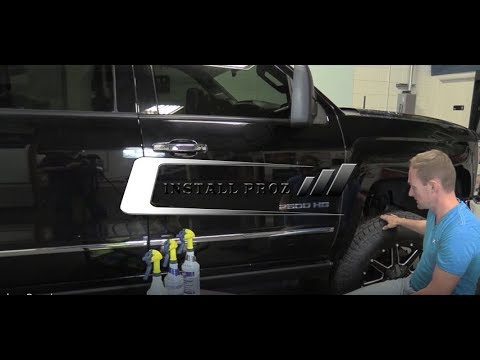 How to Install Paint Protection Film (Clear Bra) on Rocker Panels