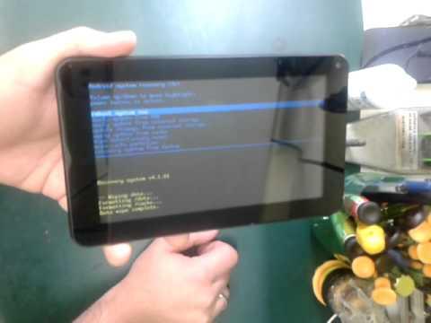 Como desbloquear tablet com senha zoodles