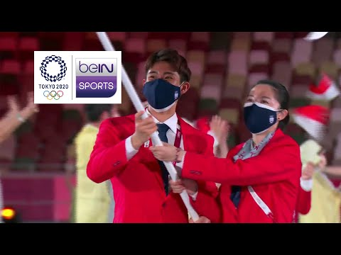 Opening Ceremony - Southeast Asian Contingent   Tokyo 2020 Olympic Games Moments