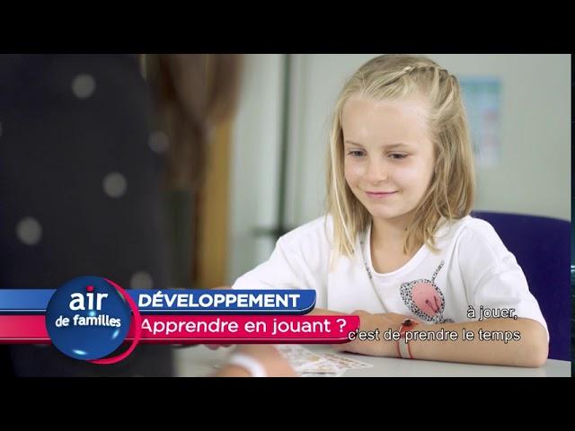 Air de familles - DEVELOPPEMENT apprendre en jouant ?