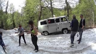 Абхазия. День 7. Гегский водопад и горный экстрим(23.05.2015., 2015-06-01T18:44:36.000Z)