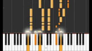 "The Beatles - ""Here Comes the Sun"" on Synthesia"