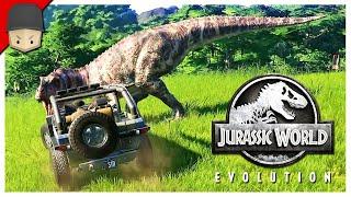 Jurassic World Evolution - DINOSAUR ESCAPED! : Ep.02 (Jurrassic World Evolution Gameplay)