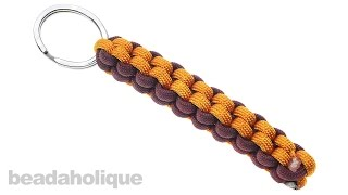 How to Make a Paracord Box Knot Keychain