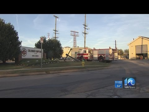 3 workers injured in fire at Colonna Shipyard