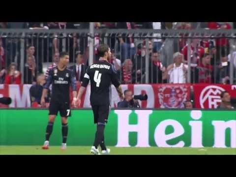 Bayern München-Real Madrid Ramos 90+3 Goal