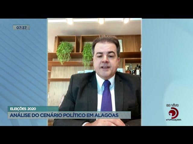 06   Eleições 2020 Análise do cenário político de Alagoas   Balanço Geral AL   30112020