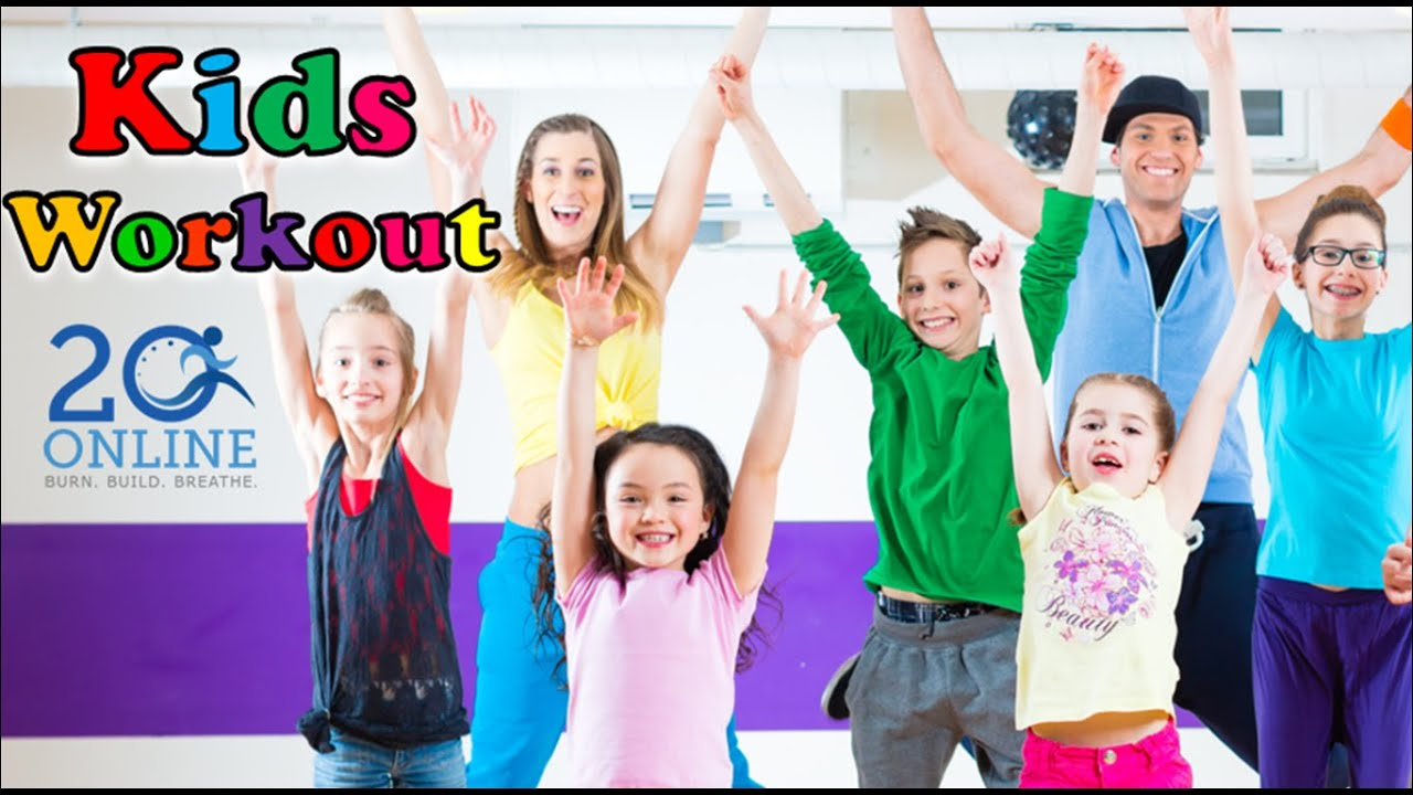 Kids 20 Minute Workout - The Last Jump - 20 Online