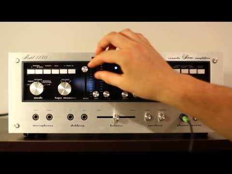 Marantz Model 1150 Stereo Console Amplifier