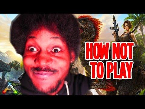 SKIP THIS GAME   ARK: Survival Evolved (RAGEQUIT)  