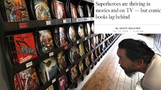 LA Times Can't Figure Out Why Comic Sales Plummet While The Answer Stares Them In The Face