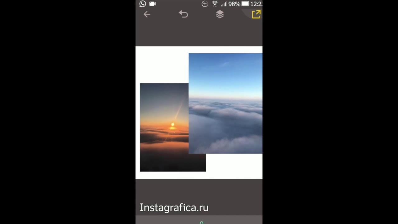 Как сделать белую рамку фото 756