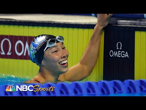 Huske's American record leads teenagers into 100 fly trials final | NBC Sports