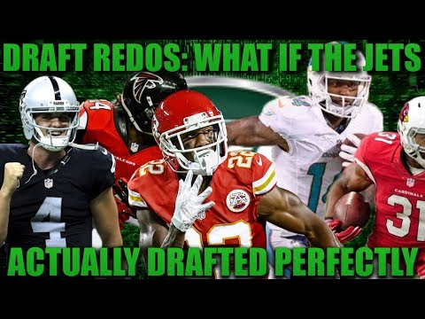 What if the Jets Actually Drafted Perfectly? Madden 18 Franchise Jets Draft Redo 2014-2016!