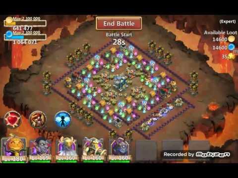 Castle Clash Expert Dungeon 5-9