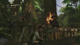 nostalgia playing the game Uncharted 2 - chapter 3
