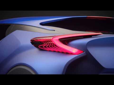 Toyota C-HR Concept at Paris 2014