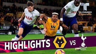 Wolverhampton vs. Tottenham: 2-3 Goals & Highlights | Premier League | Telemundo Deportes