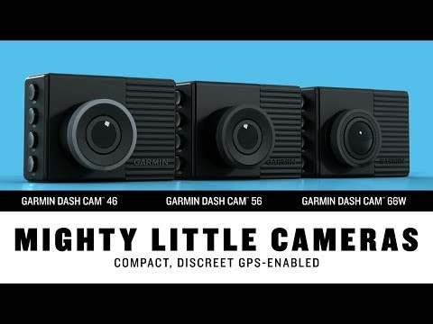 Garmin Dash Cam 46, 56, And 66W – They're Mighty Little Cameras