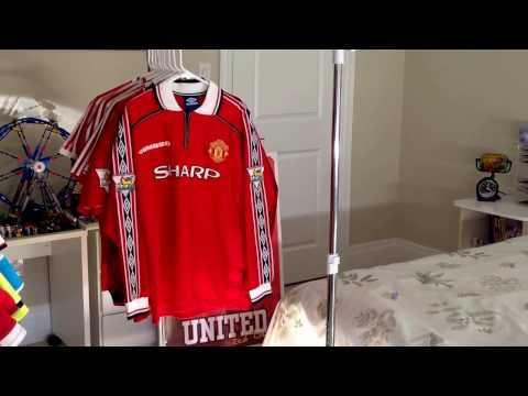 My Manchester United Home Shirt Collection 1980-2017